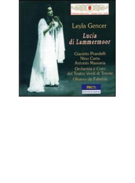 歌劇『ランメルムーアのルチア』全曲 ジェンチェル、プランテッリ、デ・ファブリティース&トリエステ・ヴェルディ劇場管(2CD)