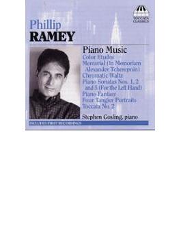 ピアノ作品集(1961-2003) ゴスリング(p)