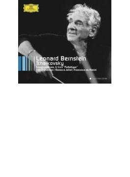 後期交響曲集、管弦楽曲集 バーンスタイン&ニューヨーク・フィル、イスラエル・フィル(4CD)