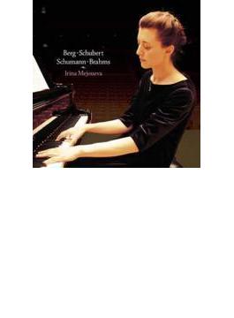 ベルク:ピアノ・ソナタ、シューベルト:ピアノ・ソナタ第13番、他 メジューエワ