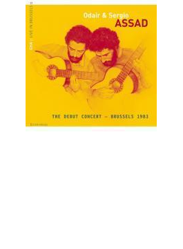 S & O.assad Debut Recital 1983 Brussel
