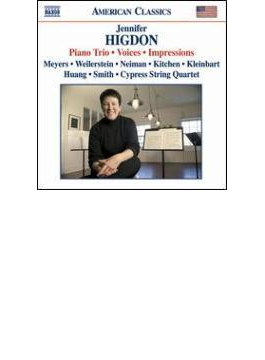 Piano Trio, Voices, Impressions: A.a.meyers N.kitchen(Vn) Cypress Sq Etc