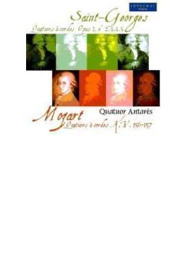 弦楽四重奏曲作品1の1~5(+モーツァルト:弦楽四重奏曲第3、4番 アンタレス四重奏団