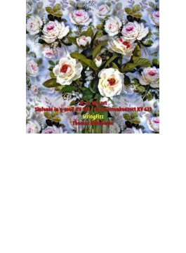 交響曲第40番(弦楽五重奏版)、クラリネット協奏曲(クラリネット五重奏版) ストリングフィッツ、フォーニャド=ヨー(va)、ノートバウアー(cl)
