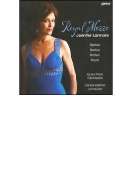 Royal Mezzo-barber, Berlioz, Britten, Ravel: Larmore(Ms) Kalmar / Grant Park O