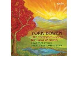 ヴィオラとピアノのための作品全集 パワー、クロフォード=フィリップス(2CD)