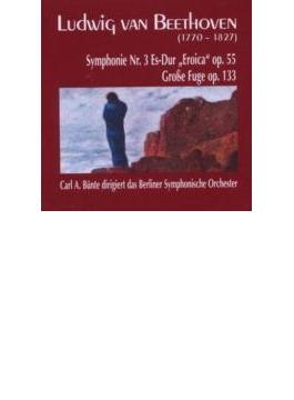交響曲第3番『英雄』、大フーガ ビュンテ&ベルリン交響楽団