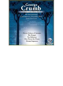 11の秋のこだま、ほか インターナショナル・コンテンポラリー・アンサンブル、ジェイミー・ヴァン・エック(MS)