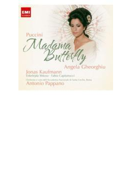 『蝶々夫人』全曲 パッパーノ&サンタ・チェチーリア国立音楽院管、ゲオルギュー、カウフマン、他(2008 ステレオ)(2CD)