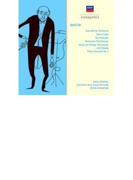 管弦楽のための協奏曲、弦チェレ、ピアノ協奏曲第3番、他 アンセルメ&スイス・ロマンド管、カッチェン(2CD)