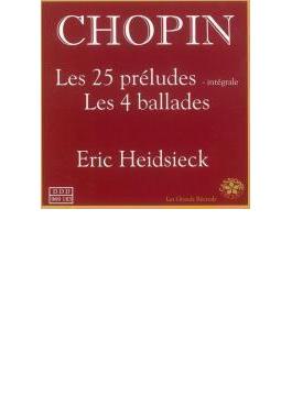 25の前奏曲、4つのバラード ハイドシェック