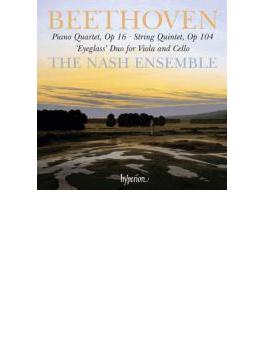 弦楽五重奏曲、ピアノ四重奏曲、二重奏曲 ナッシュ・アンサンブル