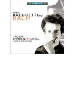 鍵盤用小品集(インヴェンションとシンフォニア、小前奏曲、パルティータ第2番、他) バケッティ(2CD)