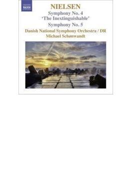 交響曲第4番『不滅』、第5番 ショーンヴァント&デンマーク国立放送交響楽団