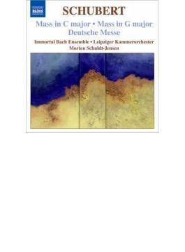 ミサ曲第2番、第4番、ドイツ・ミサ シュルト=イェンセン&ライプツィヒ室内管、インモータル・バッハ・アンサンブル