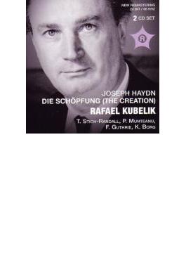 ハイドン:『天地創造』(RAIローマ響)、ドヴォルザーク:『新世界より』(デンマーク放送響) クーベリック指揮(2CD)
