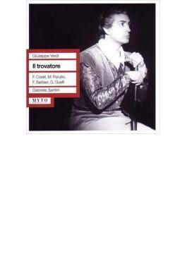 Il Trovatore: Santini / Teatro San Carlo F.corelli Guelfi Parutto Barbieri