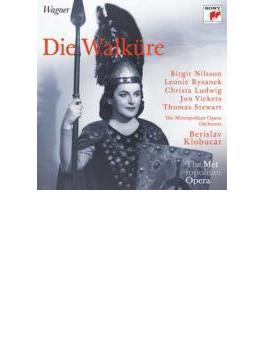 『ワルキューレ』全曲 クロブチャール&メトロポリタン歌劇場、ニルソン、リザネク、他(1968 モノラル)(3CD)