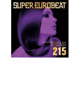 Super Eurobeat Vol.215