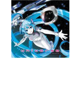 universe Miku Hatsune-Vocaloid