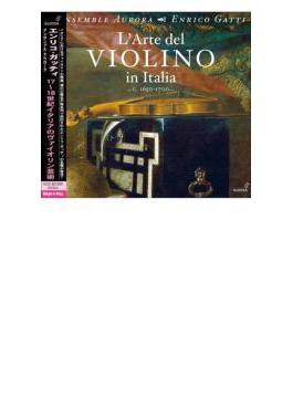 『17~18世紀イタリアのヴァイオリン芸術』 E.ガッティ、アンサンブル・アウローラ(2CD)