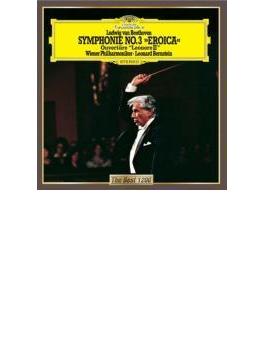 交響曲第3番『英雄』、『レオノーレ』序曲第3番 バーンスタイン&ウィーン・フィル