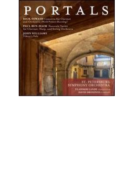 Portals-moderne Clarinet Concertos: Drosinos(Cl) V.lande / St Petersburg So