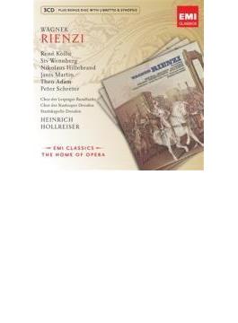 『リエンツィ』全曲 ホルライザー&シュターツカペレ・ドレスデン、コロ、アダム、他(1974、76 ステレオ)(3CD)