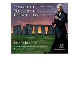 English Recorder Concertos: Petri(Rec) Thorel / Hong Kong City Co (Hyb)