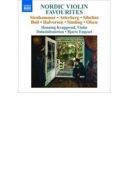 北欧のヴァイオリン名曲集 クラッゲルード、エンゲセト&ダーラ・シンフォニエッタ