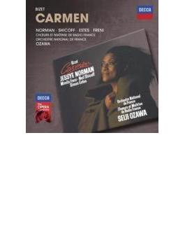 『カルメン』全曲 小澤征爾&フランス国立管、ノーマン、フレーニ、他(1988 ステレオ)(2CD)