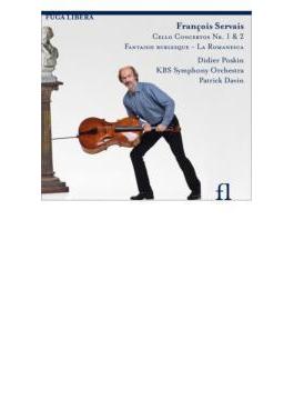 チェロ協奏曲、チェロと管弦楽のための作品集 ポスカン、ダヴァン&KBS響(日本語解説付)