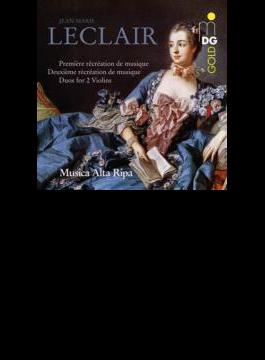 『やさしい音楽の気晴らし』、2台のヴァイオリンのためのソナタ集 ムジカ・アルタ・リパ