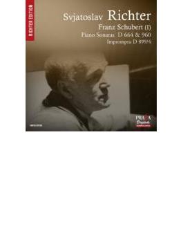 ピアノ・ソナタ第21番、第13番、即興曲変イ長調 リヒテル(1972、62、56年)