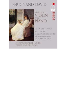 ヴァイオリンとピアノのための作品集 シャルト、フォグラー