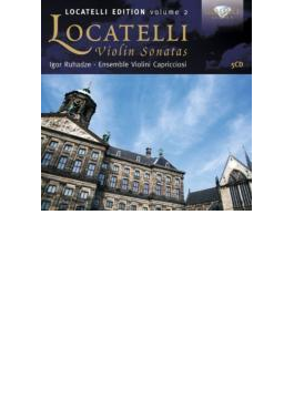 ロカテッリ・エディション第2集~ヴァイオリン・ソナタ集 アンサンブル・ヴァイオリーニ・カプリチオージ(5CD)