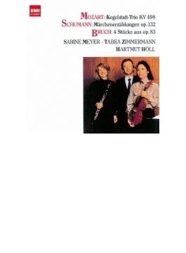 モーツァルト:ケーゲルシュタット・トリオ、ブルッフ:8つの小品より、シューマン:おとぎ話 S. マイヤー、T. ツィンマーマン、ヘル
