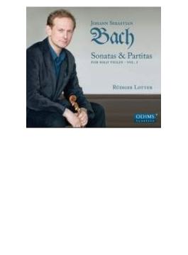 無伴奏ヴァイオリンのためのソナタとパルティータ第1集 リュディガー・ロッター