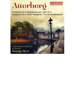 交響曲第6番『ドル交響曲』、交響曲第4番、ヴェルムランド狂詩曲、組曲第3番 ヤルヴィ&エーテボリ響