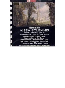 Missa Solemnis, Piano Concerto, 5, Choral Fantasy, Etc: Bernstein / Nyp Serkin(P) Etc