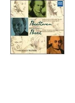 Piano Sonata, 31, 32, : Cameron Watson +c.p.e.bach