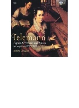 鍵盤楽器のためのフーガ、序曲、前奏曲、組曲集 ロベルト・ロレッジャン(5CD)