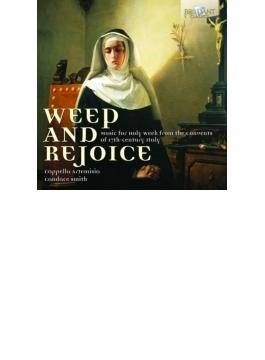 『嘆きと喜び~17世紀のイタリア修道院における受難週の音楽』 カペラ・アルテミシア
