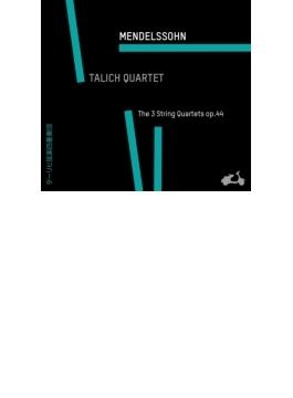 弦楽四重奏曲第3番、第4番、第5番 ターリヒ四重奏団