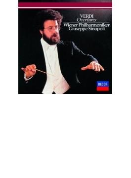 序曲、前奏曲集 シノーポリ&ウィーン・フィル
