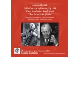 ドヴォルザーク:チェロ協奏曲 マヒュラ、モラルト&ウィーン響(+モーツァルト:ヴァイオリン・ソナタ第41番 デ・クリーン、ヘクシュ)