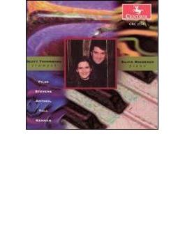 Music For Trumpet & Piano-antheil, Kennan, Pilss, Stevens, Tull: Thornburg(Tp) Roederer(P)