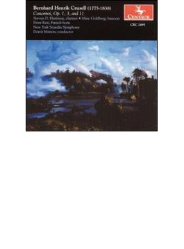 Clarinet Concerto, 1, 3, Etc: S.hartman(Cl) Matson / New York Scandia So