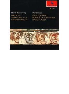 Piano Quartet, Piano Sonata: Garth(P) C.stevens(Vn) Rudiakov(Vc) Etc +rosenzweig