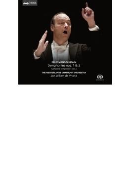交響曲第3番『スコットランド』、第1番 フリエンド&ネザーランド交響楽団